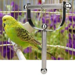 Newest Pet Parrot Bird Cage Stainless Steel Hanger Hanging S