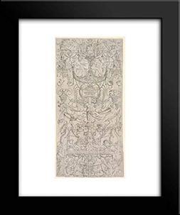 Nicoletto da Modena - 20x24 Framed Museum Art Print- Panel o