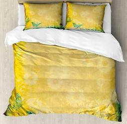 Nostalgic Design Duvet Cover Set Twin Queen King Sizes with