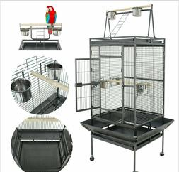"Nova Microdermabrasion 68"" Large Bird Cage Play Top Parrot C"