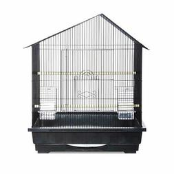 Prevue Hendryx Offset Roof Parakeet Cage With Removable Bott