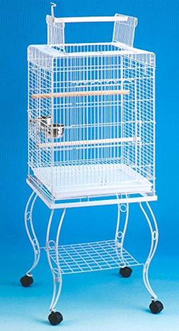 open play parrot bird cage
