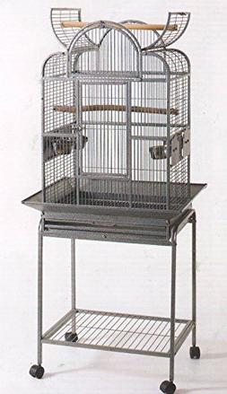 open play wrought iron cage