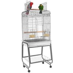 A&E Cage Co. 22-Inch Open top Playtop Cage, Black
