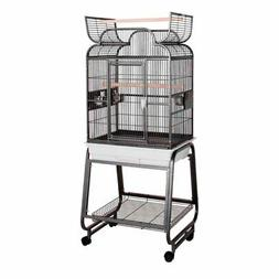 HQ Opening Scrolltop Birdcage with Stand
