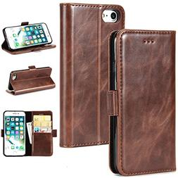 """OuDu Wallet Case for iPhone 7 / iPhone 8 4.7"""" PU Leather Cas"""
