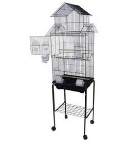Mcage Large Tall Pagoda House Canary Parakeet Cockatiel Love