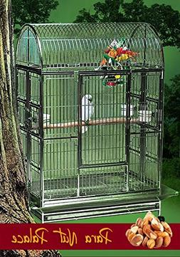 Para Nut Palace Stainless Steel Extra Large Bird Cage - Perf