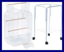 PetcageMart Parakeet Cockatiel Playtop Metal Bird Cage with
