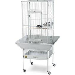 Prevue Pet Products 3351W Park Plaza Bird Cage, Pewter