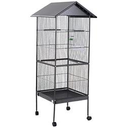 "Giantex 61"" Large Parrot Bird Cage Play Top Pet Supplies w/P"