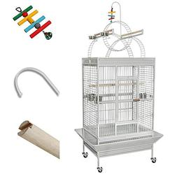 Yescom Large Parrot Bird Flight Finch Cage Macaws Pet Supply