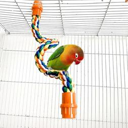 Parrot Bite Toys Hanging Braided Chew Rope <font><b>Perch</b