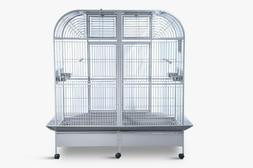 Parrot Cage Huge with divider for Macaw Cockatoo African Gre