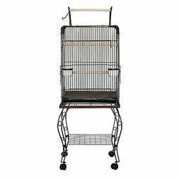 YML Parrot Cage, 28-Pound, Antique Copper