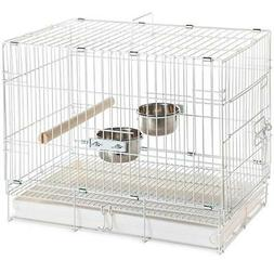 Parrot Carrier Pet Bird Travel Cage Collapsible