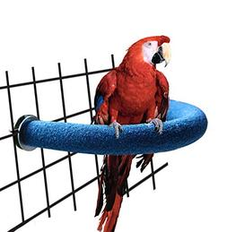 RYPET Parrot Perch Rough-surfaced - Quartz Sands Bird Cage P