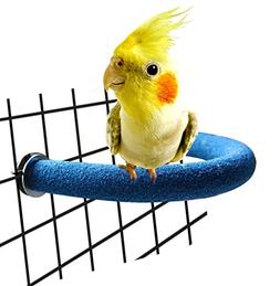 RYPET Parrot Perch Rough-surfaced - Quartz Sands Bird Cage P