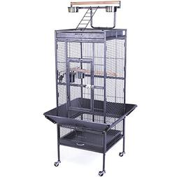 Yaheetech Parrot Pet Budgie Canary Aviary Bird Cage Open Top