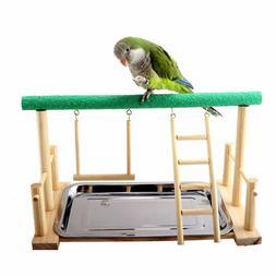 Mrli Pet Parrot Playstand Bird Play Stand Cockatiel Playgrou