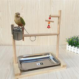 Parrot Playstand Bird Playground Perch Gym Training Stand To