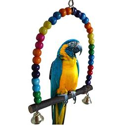 LIANCHI Small or Large-Sized Parrot Toy Pure Natural Colorfu