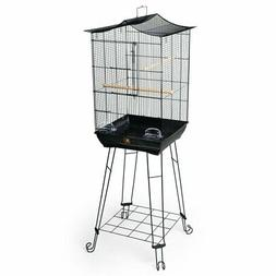 Prevue Pet Products Penthouse Suites Crown Roof Bird Cage wi