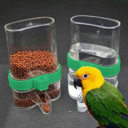 Pet Bird Cage Auto Water Bottle Parrot/Cockatiel Food Hangin