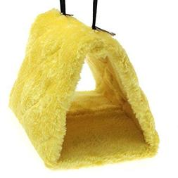 Pesp® Pet Bird Nest Hammock Hanging Cave Cage Plush Snuggle