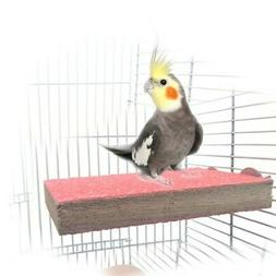 Pet Bird Paw Grinding Stand Platform Parrot Perches Cage Per