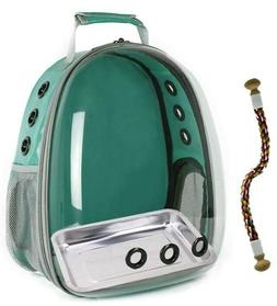 Pet Bird Portable Parrot Carrier Breathable Bag Travel Backp