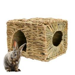Pet Birds Grass Nest Pet Cages Rabbit Guinea Pig Bed Small P