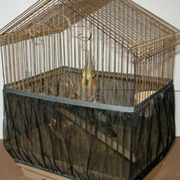 Pet Birds Products Mesh Bird Seed Catcher Net Cover Shell Sk