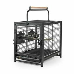 Prevue Hendryx Pet Travel Carrier Bird Cage with Removable T