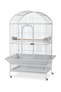 Prevue Pet Products Large Dometop Bird Cage 3163W, Pewter Ha