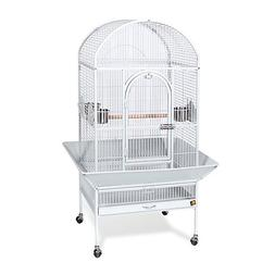 Prevue Pet Products Medium Dometop Bird Cage 3162W, Pewter H