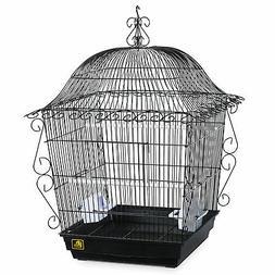 Prevue Pet Products Jumbo Scrollwork Bird Cage 220BLK Black,