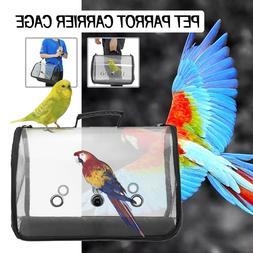Pet Parrot Backpack Bird Carrier Travel Outerdoor Bird Trans