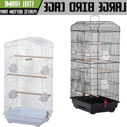 NEW Large Pet Parrot Cage Macaw Cockatiel Conure LoveBird Fi