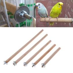 Pet Parrot Raw Fork Stand Wood Toy Rack Hamster Tree Branch