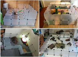 Pet Playpen Indoor Small Animal Cage Rabbit Guinea Pig Puppy
