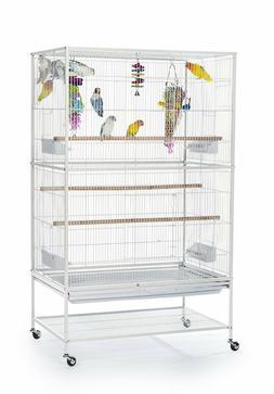 Pet Product Wrought Iron Flight Cage Bird Parakeets Canaries