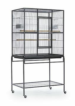 Prevue Hendryx Pet Products Wrought Iron Flight Cage with St
