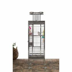 Prevue Pet Stainless Steel Bird Cage Small 17.75 Inch L X 17