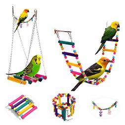 Pet Swings Bird Parrot Parakeet Budgie Cockatiel Cage Hammoc
