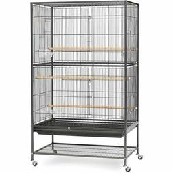 Prevue Pet Products Wrought Iron Flight Cage with Stand F040