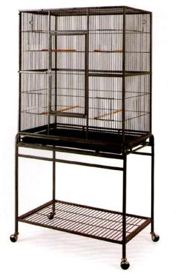 Pet Products Large Wrought Iron Flight Cage with Stand #15 B