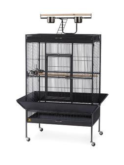 Prevue Pet Products Wrought Iron Select Bird Cage 3154BLK, B