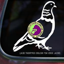 Pigeon Vinyl Decal Sticker A