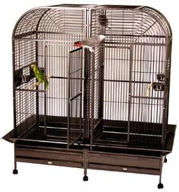 Piilani Plantation Extra Large Double Bird Cage with Double